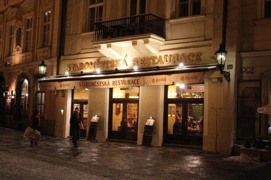 Staromestska Restaurant : ресторан в центре Праги
