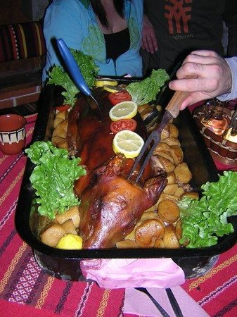 The roasted pig. 2007.