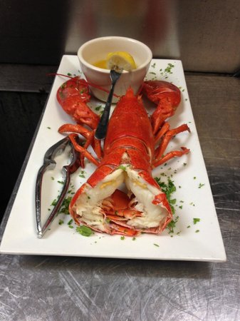 The Whale Raw Bar & Fish House: FRESH MAINE LOBSTER