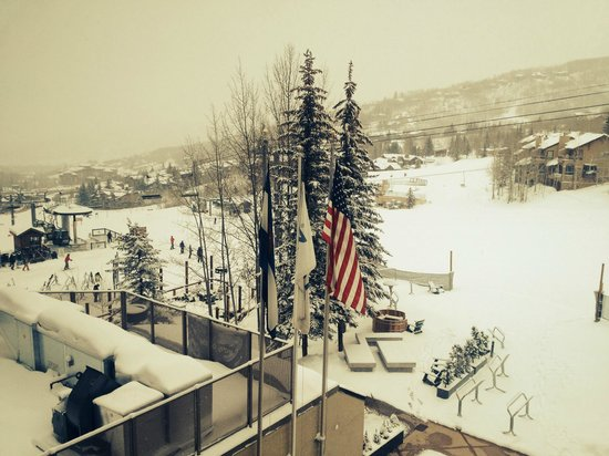 The Westin Snowmass Resort : View from room 425 balcony