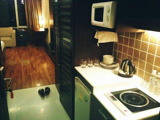 Vacio Suite: 小廚區
