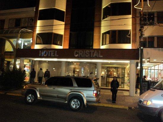 Hotel Cristal: Fachada