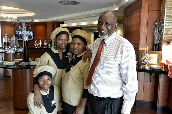 "City Lodge Hotel Johannesburg Airport - Barbara Road : Joe and his ""Girls"""