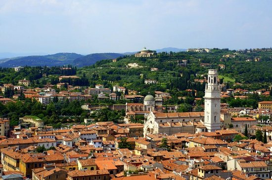 Torre dei Lamberti: View from the top