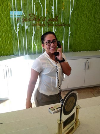 Lucia - my favorite member of this 1st class staff! - Picture of ...
