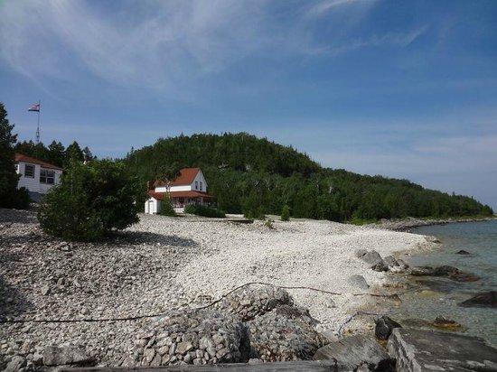 Flowerpot Island Lighthouse: Lightkeeper's house