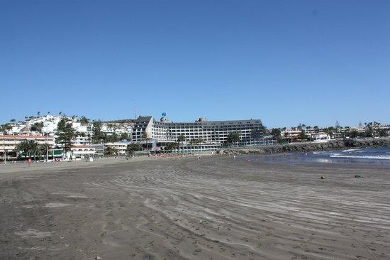 Dunas Don Gregory: Vista general desde la Playa