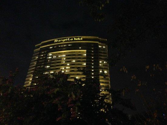 Shangri-La Hotel Fuzhou : hotel from outside