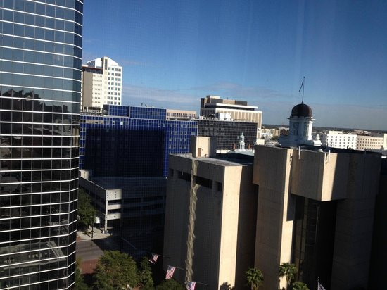 Hilton Tampa Downtown: View from Room #1405