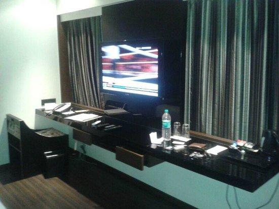 Lcd Tv Stand Designs Bangalore : Tv cabinet picture of svenska design hotel bengaluru tripadvisor
