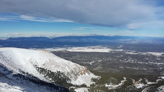 Pikes Peak - America's Mountain: At 12,800 ft