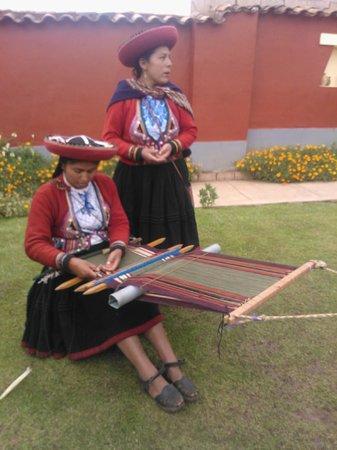 Centro de Textiles Tradicionales del Cusco: Muy buena la explicacion