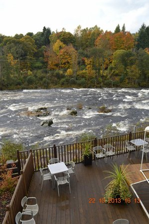 The Inn on the Tay: view from rm 6