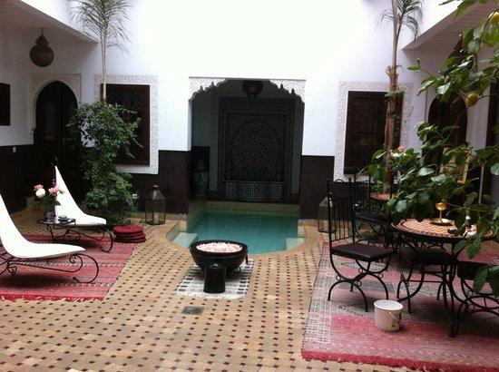 Riad Charme d'Orient: Halle principal