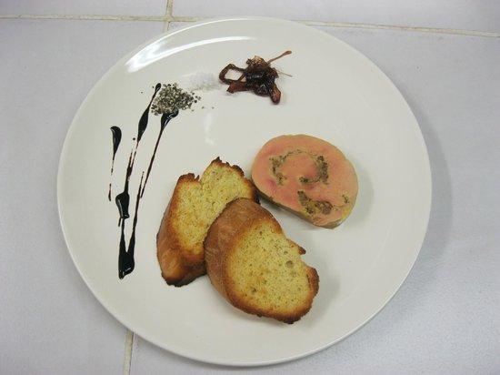 Le Bistroquet : Nougat de Foie gras