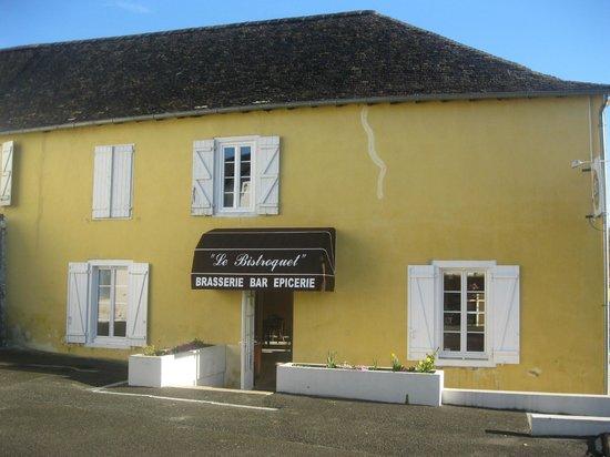 Le Bistroquet : la façade