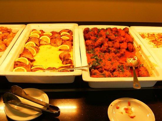 Tsamis Zante : buffet chaud