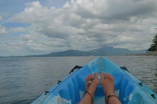 Hilton Fiji Beach Resort & Spa: Kayak view