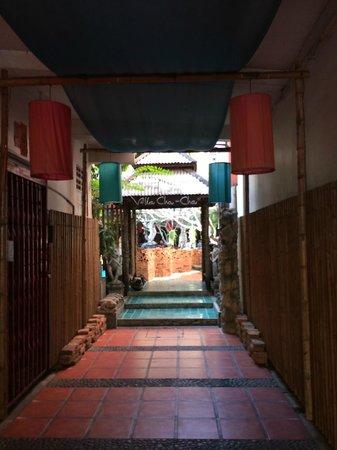 Villa Cha-Cha: Entrée de l'hotel