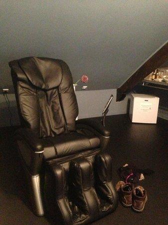 A L'Origine : fauteuil massant en chambre