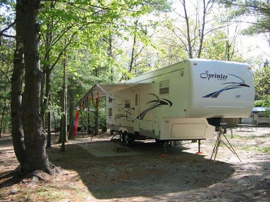 Double JJ Resort: Campsites