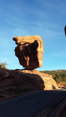 Jardín de los dioses (Garden of the Gods): Balanced Rock