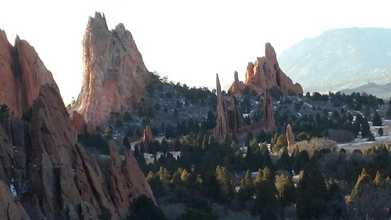 Jardín de los dioses (Garden of the Gods): Formations that are what you come to see.