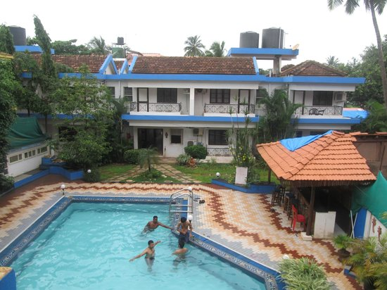 view from the balcony picture of senhor angelo resort calangute rh tripadvisor ie