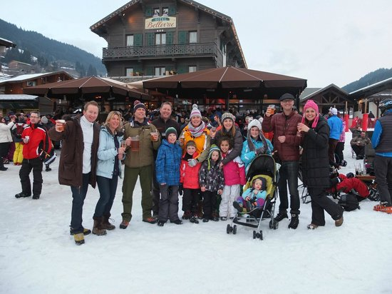 Chalet Alouette: Team Alouette & Martinet in Les Gets on our last day