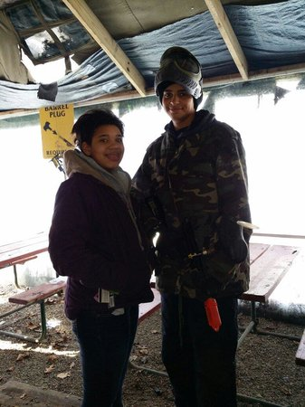 Explore Brown County at Valley Branch Retreat : My sister chickened out paint balling but loves your zip lines!