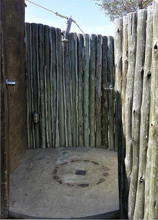 Marataba Safari Lodge: Aditional Outside Shower