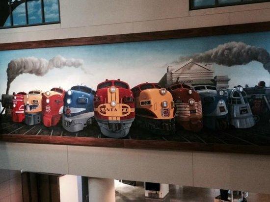 Union Station: Interior mural