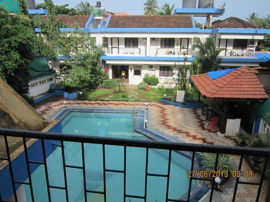 Senhor Angelo Resort: View from the balcony