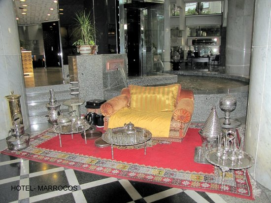 Sheraton Casablanca Hotel & Towers : Área interna do Hotel