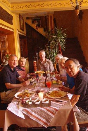 Restaurante Las Antorchas: Sheila & family 16012014