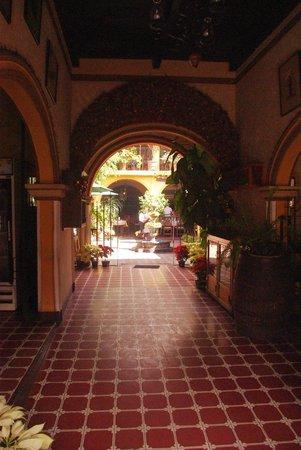 Restaurante Las Antorchas: Way in