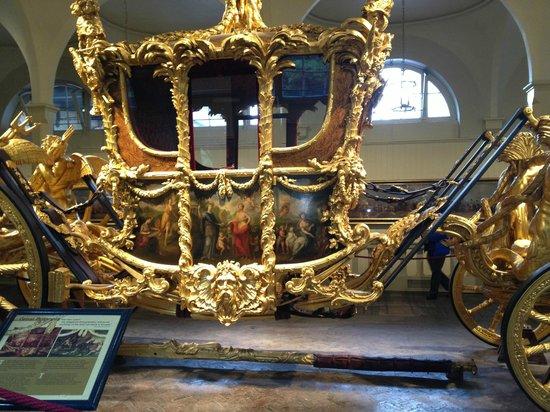 Royal Mews: Carrozza d'oro