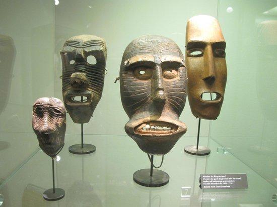 Musée national : Милые маски