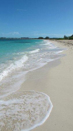 Atlantic Ocean Beach Villas: Grace bay beach at Turtle cove