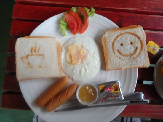 Khaosan Baan Thai: Petit déjeuner