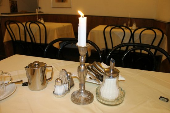 Restaurant Konvice: На столе
