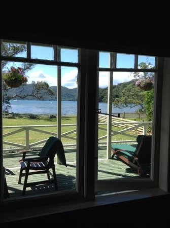 Shoal Bay Estate, Great Barrier Island: seaview from my room window