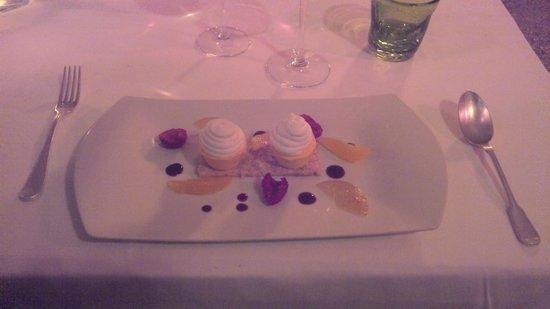 Restaurant Alain Llorca: le dessert très Agrumes de Jean Michel LLorca