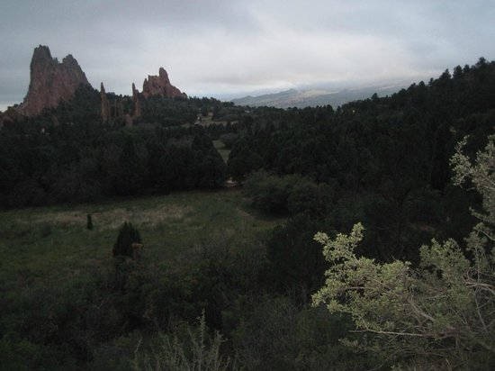 Jardín de los dioses (Garden of the Gods): Vista in Garden of the Gods from Main Road