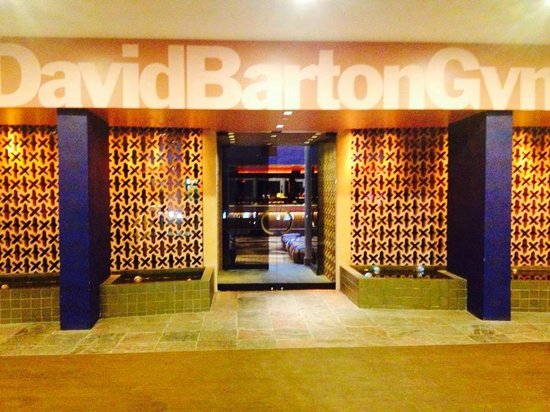 David Barton Gym & Spa: Entrance