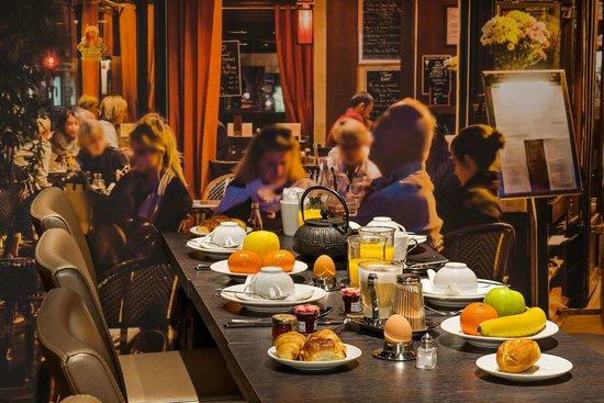 PETIT-DÉJEUNER MIDNIGHT HOTEL PARIS***