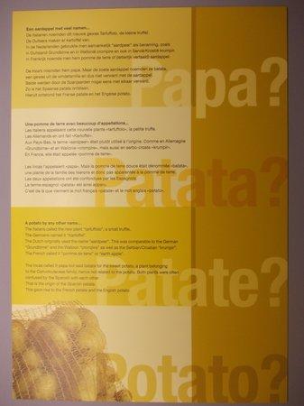 friet museum - pannello didattico