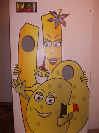 friet museum - immagine spiritosa patate fritte