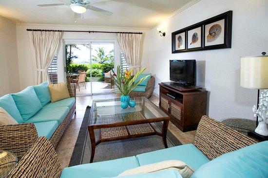 Beach View : Living Area