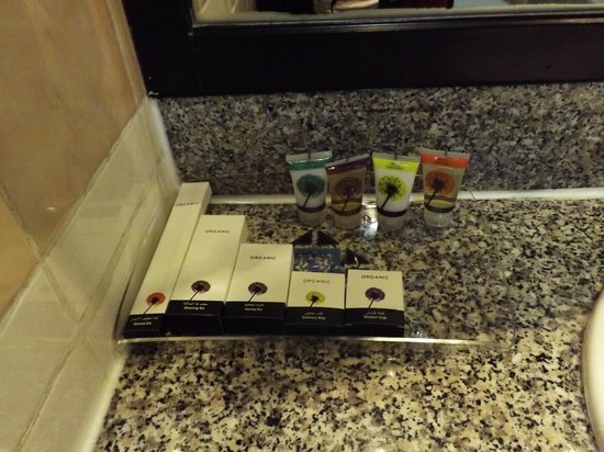 Al Diar Regency Hotel : bathroom amenities